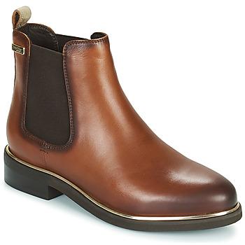 Shoes Women Mid boots Les Tropéziennes par M Belarbi MICKY Brown / Black