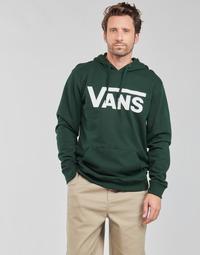 material Men sweaters Vans VANS CLASSIC PO HOODIE II Kaki