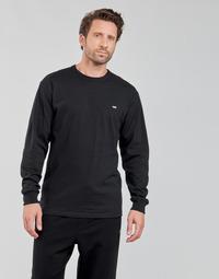 material Men Long sleeved shirts Vans OFF THE WALL CLASSIC LS Black