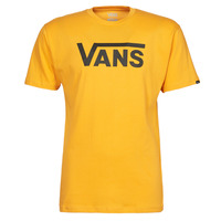 material Men short-sleeved t-shirts Vans VANS CLASSIC Yellow / Black
