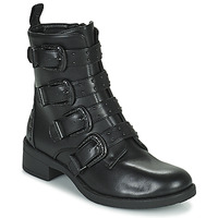 Shoes Women Mid boots Les Petites Bombes QUADRI Black