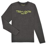 material Boy Long sleeved shirts Teddy Smith TICLASS3 ML Grey