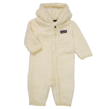 material Children Jumpsuits / Dungarees Patagonia FURRY FRIENDS BUNTING White