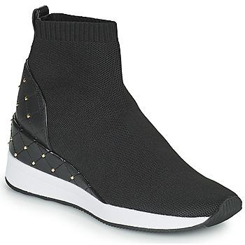 Shoes Women High top trainers MICHAEL Michael Kors SKYLE Black