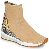 Shoes Women High top trainers MICHAEL Michael Kors SKYLER Camel