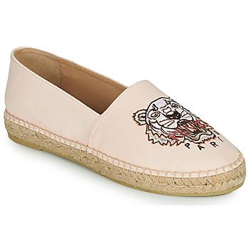 Shoes Women Espadrilles Kenzo ESPADRILLES CLASSIC TIGER Pink / Nude