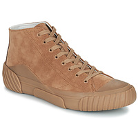 Shoes Men High top trainers Kenzo TIGER CREST HIGH TOP SNEAKERS Camel