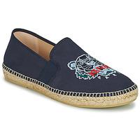 Shoes Men Espadrilles Kenzo ESPADRILLE ELASTIC TIGER Blue