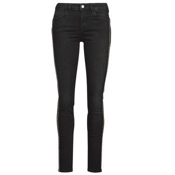 material Women slim jeans Liu Jo DIVINE Black