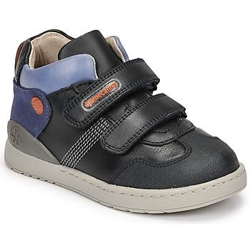 Shoes Boy High top trainers Biomecanics BIOEVOLUTION BOY Marine