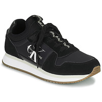 Shoes Women Low top trainers Calvin Klein Jeans RUNNER LACEUP Black