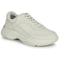 Shoes Women Low top trainers Calvin Klein Jeans CHUNKY LACEUP White