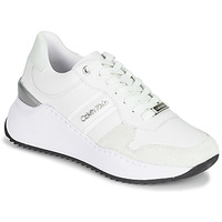 Shoes Women Low top trainers Calvin Klein Jeans RYLIE LACE UP 3 White