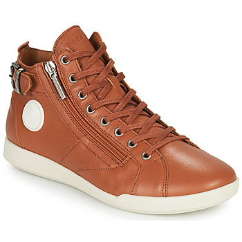 Shoes Women High top trainers Pataugas PALME Camel