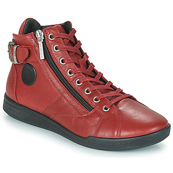 Shoes Women High top trainers Pataugas PALME  sangria