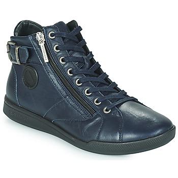 Shoes Women High top trainers Pataugas PALME Marine