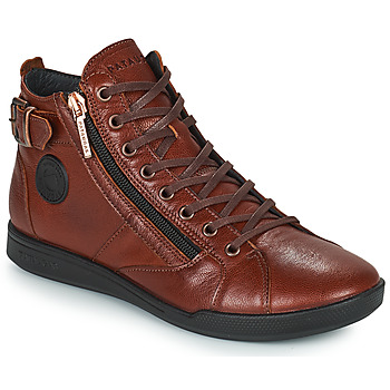 Shoes Women High top trainers Pataugas PALME Chestnut