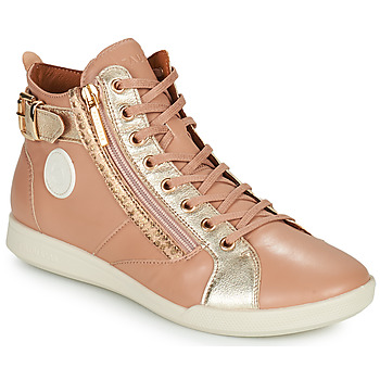 Shoes Women High top trainers Pataugas PALME Beige / Leo