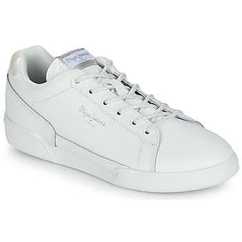 Shoes Women Low top trainers Pepe jeans LAMBERT CHIC White
