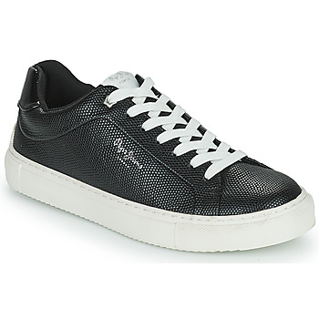 Shoes Women Low top trainers Pepe jeans ADAMS COLLINS Black