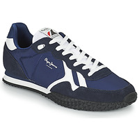 Shoes Men Low top trainers Pepe jeans HOLLAND SERIE 1 Blue