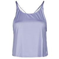 material Women Tops / Sleeveless T-shirts adidas Performance YOGA CROP Violet / Orbit