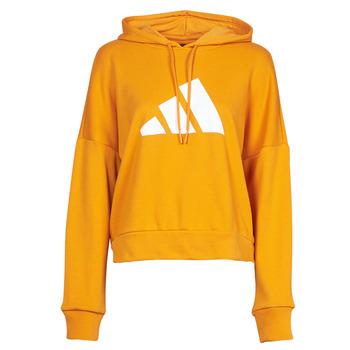 material Women sweaters adidas Performance WIFIEB HOODIE Orange / Focus