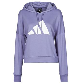 material Women sweaters adidas Performance WIFIEB HOODIE Violet / Orbit