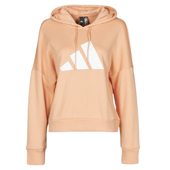 material Women sweaters adidas Performance WIFIEB HOODIE Blush / Ambient