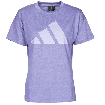 material Women short-sleeved t-shirts adidas Performance WEWINTEE Violet