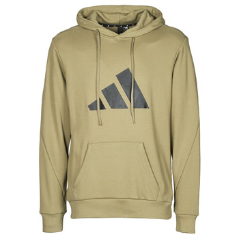 material Men sweaters adidas Performance M FI 3B HOODIE Green / Orbit