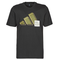 material Men short-sleeved t-shirts adidas Performance 3BAR LOGO TEE Black