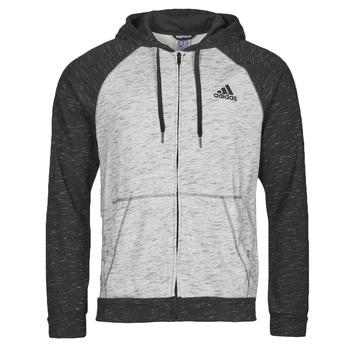 material Men Jackets adidas Performance M MEL FZ HD Grey / Medium