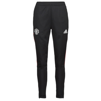 material Tracksuit bottoms adidas Performance MUFC TR PNT Black