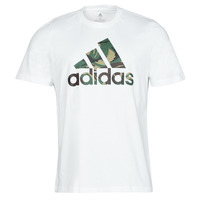 material Men short-sleeved t-shirts adidas Performance M CAMO T White