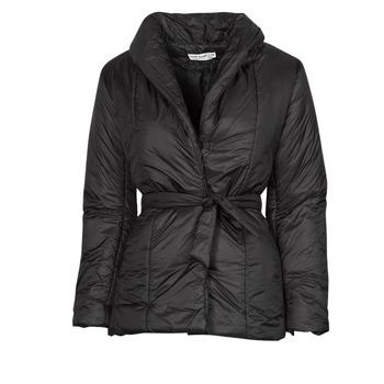 material Women coats Naf Naf BUCAM Black