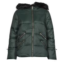material Women Duffel coats Naf Naf BUGIN Grey / Dark