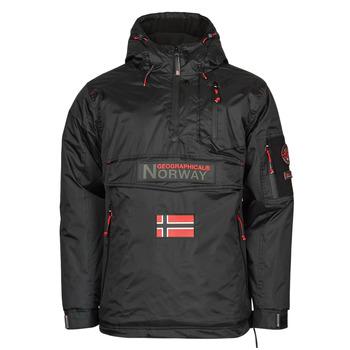 material Men Parkas Geographical Norway BARKER Black