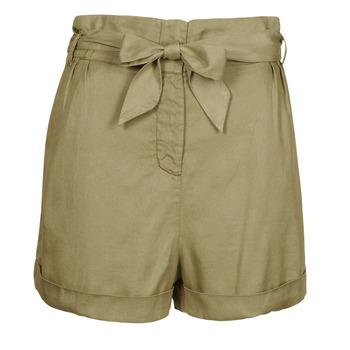 material Women Shorts / Bermudas Ikks ELVIRA Kaki