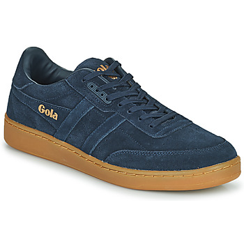 Shoes Men Low top trainers Gola CONTACT SUEDE Marine / Gum
