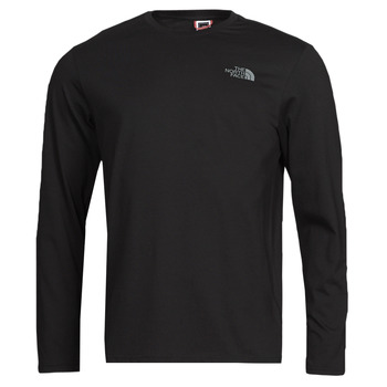 material Men Long sleeved shirts The North Face L/S EASY TEE Black