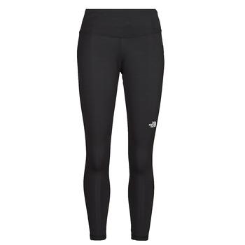material Women leggings The North Face W FLEX HR 7/8 TIGHT Black