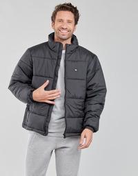 material Men Duffel coats adidas Originals PAD STAND PUFF Black