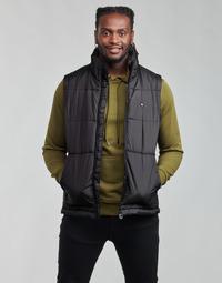 material Men Duffel coats adidas Originals PADDED VEST Black