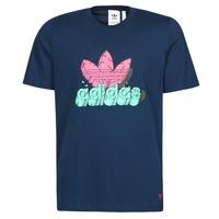 material Men short-sleeved t-shirts adidas Originals 6 AS TEE Blue / Marine