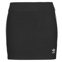 material Women Skirts adidas Originals 3STRIPES SKIRT Black
