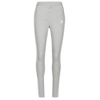 material Women leggings adidas Originals 3 STRIPES TIGHT Grey / Medium
