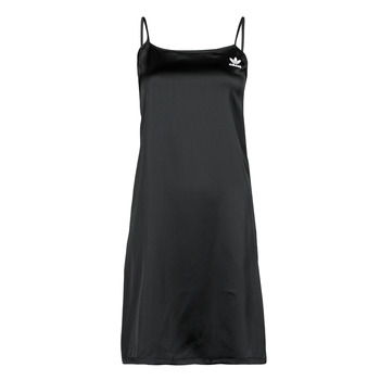 material Women Short Dresses adidas Originals DRESS Black