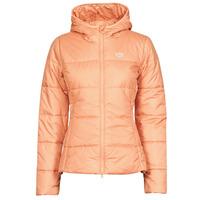 material Women Duffel coats adidas Originals SLIM JACKET Blush / Ambient