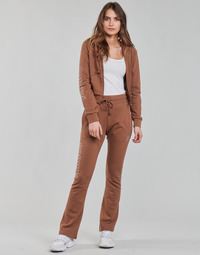 material Women Tracksuit bottoms adidas Originals OPEN HEM TP Brown